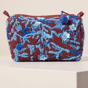 Anthropologie beaded pouch !